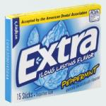 Extra Chewing Gum Peppermint