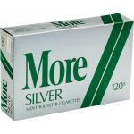 More Menthol Silver 120's